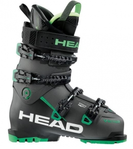 HEAD BUTY VECTOR EVO 120S BLACK/ANTH-GREEN R17