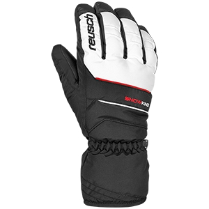 REUSCH RĘKAWICE SNOW KING 701 BLACK/WHITE   R17