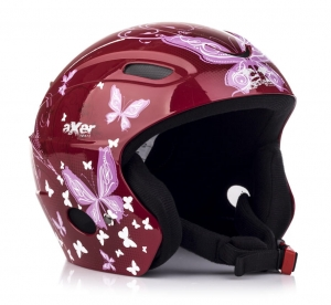 AXER KASK FOX ALISON RED A2555 54-58 CM A2555 R16