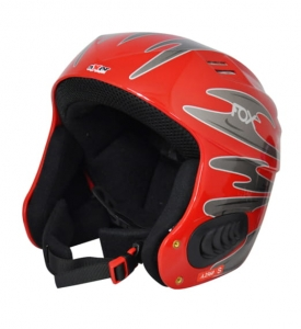 AXER KASK FOX RED 55-56 CM A2560 R16