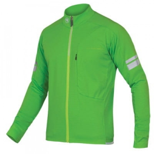 BLUZA  ENDURA WINDCHILL JACKET GREEN VIZ  E9102