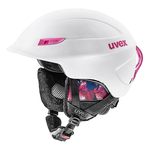 UVEX KASK GAMMA WHITE-PINK MAT  R17