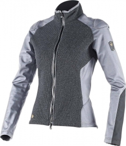 DAINESE BLUZA SWEATER BERNICE LADY ANTHRACITE/STEEL GREY R16