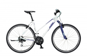 ROWER KTM LIFE ONE 24 DA WHITE-DARKBLUE+MINT ACERA R19