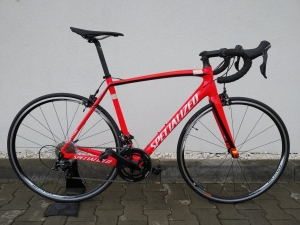 Rower SPECIALIZED Tarmac Elite Cen red-white