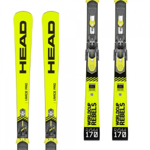 HEAD NARTY WC REBELS iRACE PRO RP WCR14 YW/BK R19