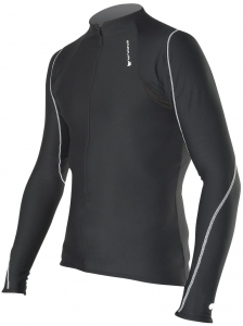 "ENDURA BLUZA XTRACT ZIP NECK TOP M"" BLACK E7101 R13"