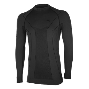 "bluza góra   Thermo Men BRUBECK L""  LS10680 BLACK R13"