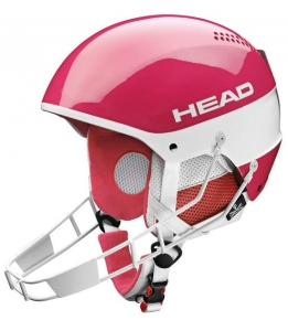HEAD KASK STIVOT YOUTH SL Chinguard  PINK  R15