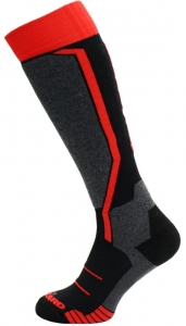 BLIZZARD SKARPETY ALLROUND BLACK/ANTHR/RED  R16