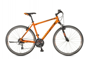 ROWER KTM LIFE ONE 24 HE MATT ORANGE BLACK R17