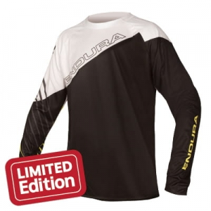 ENDURA KOSZULKA  MT500 PRINT L/S T LTD BLACK E3124