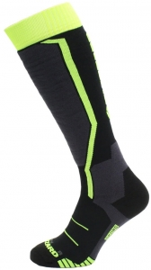 BLIZZARD SKARPETY ALLROUND BLACK/ANTHR/GREEN R16