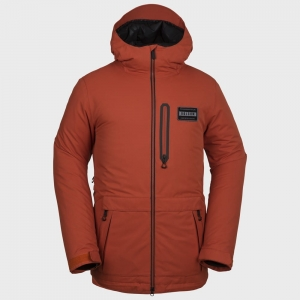Kurtka VOLCOM ANALYZER INS/BOR ORANGE