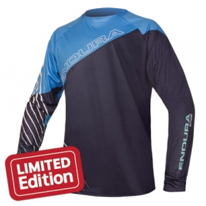 ENDURA KURTKA MT500 PRINT L/S T LTD BLUE NAVY E3124